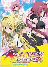 DVD To Love Ru Season 4 Episode 1-14 End Uncensored Version Anime Box set_DCA