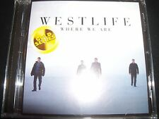WESTLIFE Where We Are (Australia) (Gold Series) CD - New