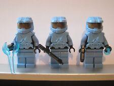 Lego HALO Trio Medium Blue SPARTAN MASTER CHIEF Minifig NEW