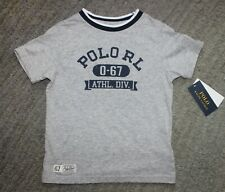 Polo Ralph Lauren Toddler Boys Gray T-Shirt - Size 2T - NWT