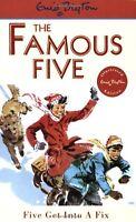 Five Get Into A Fix: Book 17 (Famous Five),Enid Blyton- 9780340681220