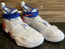 size 8.5 mens lebron soldier 11 nike 897646-101