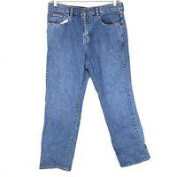 Tommy Bahama Mens Classic Fit Straight Leg Jeans Medium Wash Size 36x32