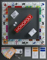 Winning Solutions Monopoly Tempered Glass Edition Board Game NEW
