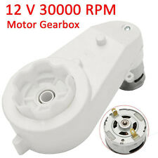 12V 30000 RPM Electric Motor Gear Box For Kids Ride On Car Bike Toy Spare Parts