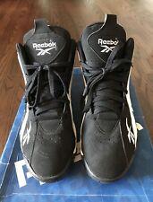 Size 10.5 - Reebok Kamikaze 2 OG Retro Black White 2020