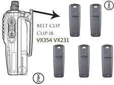5x Belt Clip-18 for Vertex Standad VX350 VX351 VX354 VX231 Portable Radio