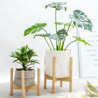 Adjustable Plant Stand Extendable Bamboo Plant & Flower Pot Holder v