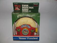 VINTAGE 1984 KENNER STAR WARS ROTJ WICKET THE EWOK MUSIC BOX RADIO TOY SEALED