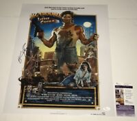 KURT RUSSELL Signed 16X20 Photo Big Trouble In Little China IN PERSON JSA COA