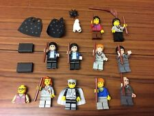 Lego Harry Potter Minifigura paquete harmione Granger Ron Weasley. escoba Cape