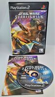 Star Wars: Starfighter Video Game for Sony PlayStation 2 PS2 PAL TESTED