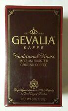 Gevalia Kaffe Traditional MEDIUM Roast Gourmet European Ground Coffee 8oz Sweden
