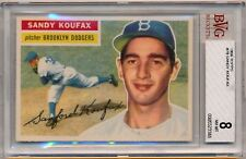 1956 Topps #79 SANDY KOUFAX Dodgers NM-MT BVG 8 - B818