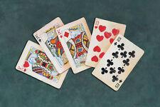 POKER ART PRINT - Full House by Lisa Danielle Gamble Cards Casino Poster 11x14