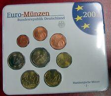 ALLEMAGNE - Coffret Euros 2002 Atelier J - BU