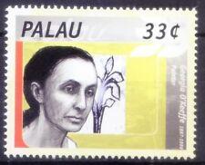 Palau 2000 MNH, Georgia O'Keeffe, Women Painter (Q2n)
