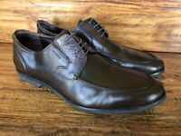 Men's Bruno Magli Lace Up Dress Shoes Brown Soft Leather Size 14 M