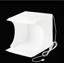 Light Room Photo Studio Photography LED Tent Kit Backdrop Cube Mini Box