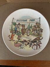 "Vintage Hanna Barbera Characters Yogi Bear Jellystone Park 8"" Melmac Plate 1960s"