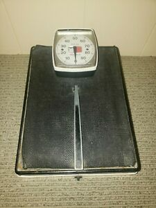 Vintage Health o meter Doctor's Scale Steel 300 Pound Capacity Legal for Trade
