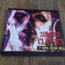 ROB ZOMBIE - ZOMBIE CLASSICS 7 HITS FROM HELL CD PROMO DIGIPAK 1998 NEAR MINT