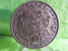 1878 morgan silver dollar, very fine condition 1st year of morgans