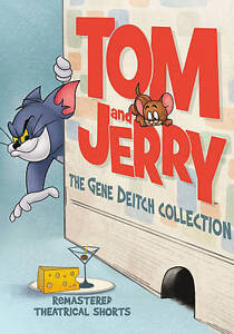 Tom and Jerry: The Gene Deitch Collection (DVD) NEW Factory Sealed Free Shipping