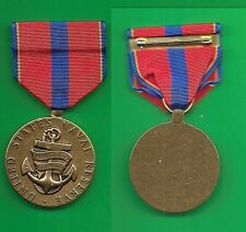 """1x6/"""" piece  of ORIGINAL MINIATURE ribbon for the ROYAL NAVY RESERVE DECORATION"""