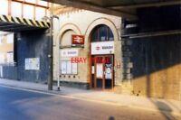 PHOTO  1989 WALKDEN RAILWAY STATION ENTRANCE