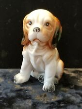Vintage Bone China Dog Figurine