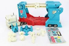 Transformers G1 Ultra Magnus Plastic Wheels + Sticker Sheet