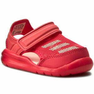 ADIDAS Unisex Toddler Coral Pink Forta Swim I Slides NIB
