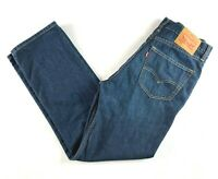 "Levis 607 Blue Denim Men's Jeans Actual Size W34"" L30"""