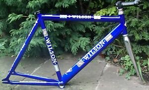 J.F.WILSON 7005 ALLOY 56.5mm FIXE / TRACK FRAME WITH REYNOLDS STEEL FRONT FORK