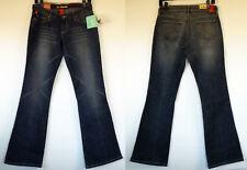 NEW NWT !IT Hottie Low Rise Boot Cut Stretch Distressed Blue Denim Jeans 9/10 Jr