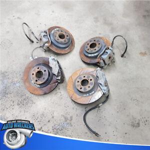 Subaru Impreza WRX GC8 brake calipers upgrade race drift