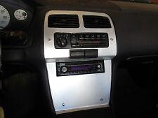 LRB Speed Aluminum Radio/Climate Gauge Surround Bezel Fits: S14 240SX LHD 95-98
