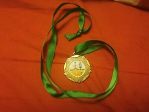 2 X School running medal