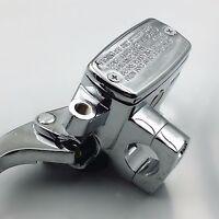 "1/"" Handlebar Black Left Hydraulic Clutch Reservoir Master Cylinder Custom VT VN"