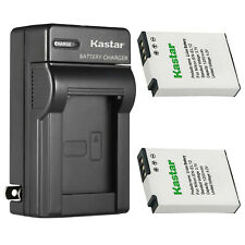 Kastar Battery + Charger for Nikon EN-EL12 Coolpix A900 A1000 B600 W300  AW100s