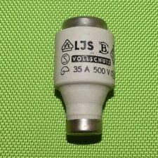 Lindner  Diazed Sicherung DIII 35A Sicherungseinsatz 500V (888)