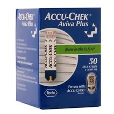 Accu-Chek Aviva Plus Diabetic Blood Glucose Test Strips