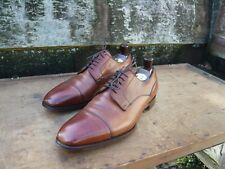 JOSEPH CHEANEY DERBY – BROWN / TAN - UK 10 – ASCOT - EXCELLENT CONDITION