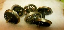 Assorted HO Drivers (3) and HO Nickle/Silver wheels, (4)