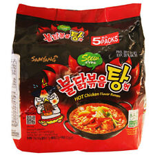 SAMYANG HOT CHICKEN FLAVOUR RAMEN STEW TYPE - 5 X 145G