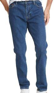 Tommy Hilfiger Mens Jeans Blue Size 38X30 Slim Tapered Leg Stretch Denim $89 254