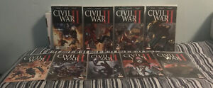 Civil War ll Comic Book Collection Issues #0 - 8