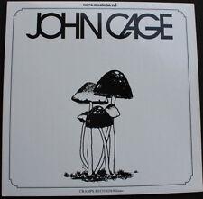 John Cage S/T LP 180g Fluxus LaMonte Shankar Stereolab Eleh Eno Sun Ra Lou Reed