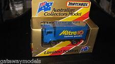 MATCHBOX AUSTRALIAN COLLECTORS MODEL MITRE 10 MB 72 DELIVERY TRUCK  LTD ED